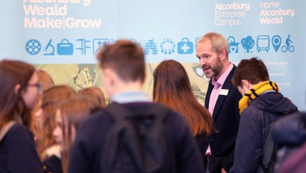 Local students inspired at EDGE Careers Fair this year