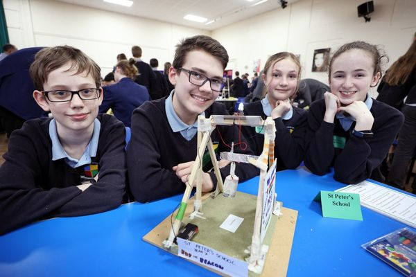 Huntingdon's secondary schools compete in annual Technology Tournament