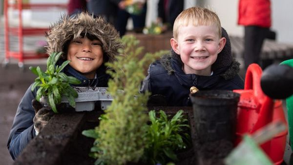 Morris Homes helps green fingered students get back to nature