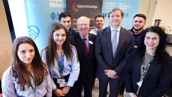 Apprentices gather to blaze a trail